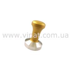 Темпер з металевою ручкою FANTASY GOLD ø 58 мм